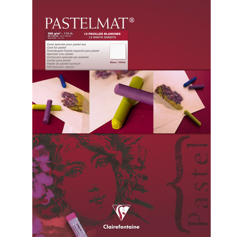 Pastelmat Clairefontaine pastel pad 360 gsm White Nº 3