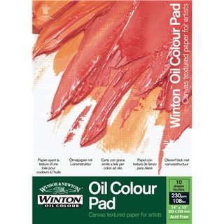 Winsor and Newton Winton Oil Pad A4