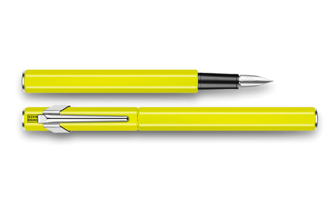 Caran d'Ache : 849 : METAL FOUNTAIN PEN : Yellow