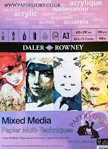 Daler Rowney : Mixed Media Spiral Pad