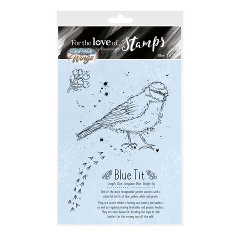 Hunkdory :  For The love of Stamps : Blue Tit
