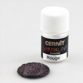 Cernit Diamond : Red mica powder