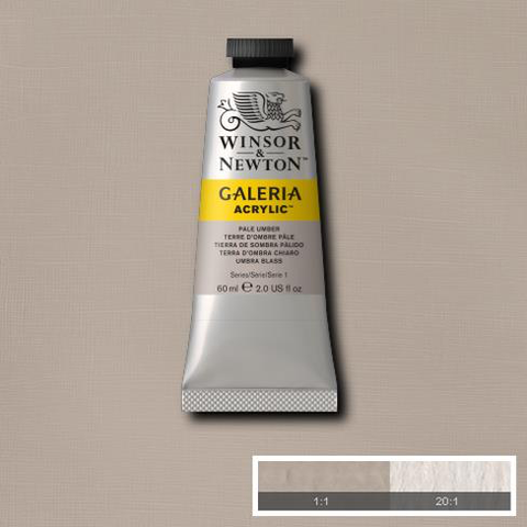 Winsor and Newton Galeria Acrylic Pale Umber