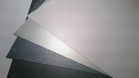4 Greyscale Tones x 20 sheets A4  Pearlescent 120 gsm
