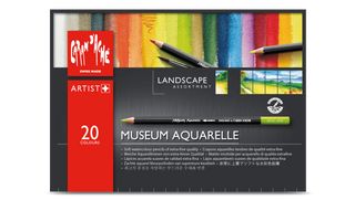 Caran d'Ache Museum Aquarelle Landscape assortment of 20 colours