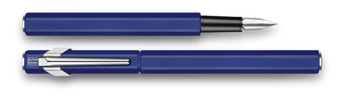 Caran d'Ache : 849 : METAL FOUNTAIN PEN : Blue