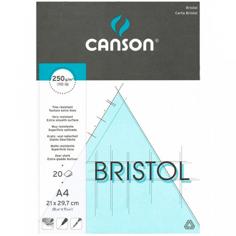 Canson  Bristol Board illustration Extra Smooth 250 gsm