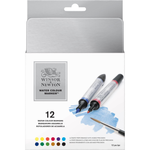 Winsor and Newton Water Colour Markers : Set of 12