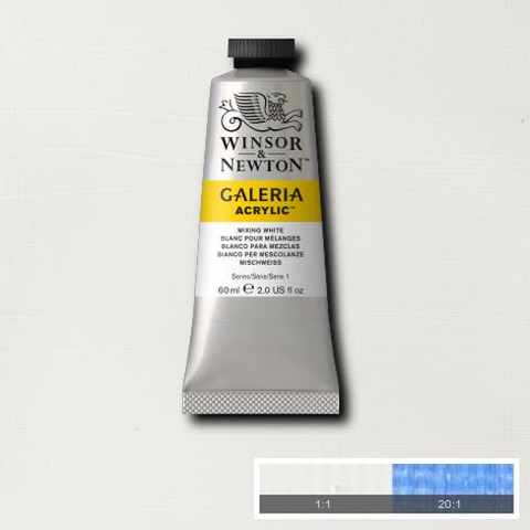 Winsor and Newton Galeria Acrylic Mixing White