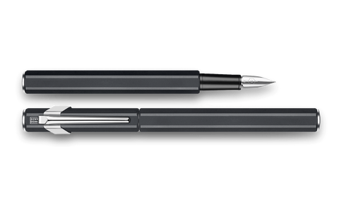 Caran d'Ache : 849 : METAL FOUNTAIN PEN : Black