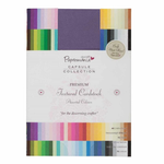 Docrafts Papermania Premium Cardstock 216 gsm Textured 75 sheet packs