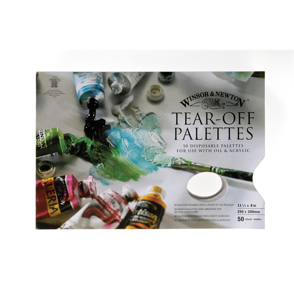 Winsor and Newton Tear off Palette x 50 sheets 11.3