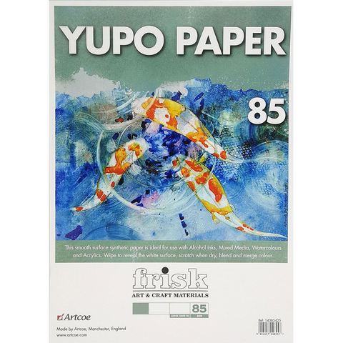 Yupo Pad A4 - 25 sheets - 85gsm - Recycled Art Paper
