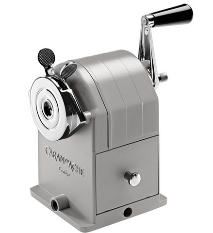 "CARAN D""ACHE Metal Pencil Sharpener machine"