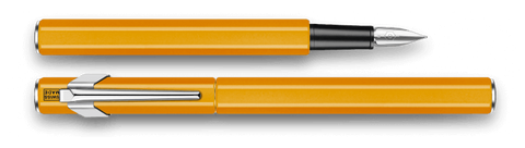 Caran d'Ache : 849 : METAL FOUNTAIN PEN : Orange