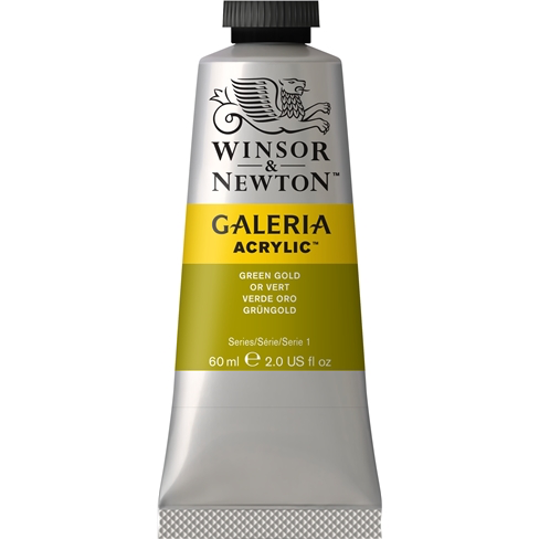 Winsor & Newton Galeria Acrylic Green Gold : 60ml