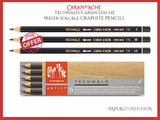 Caran d'Ache  Six assorted Technalo Water-soluble Graphite pencils
