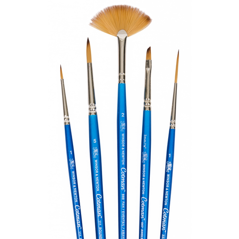 Winsor and Newton : Cotman Watercolour Brush : Set of 5