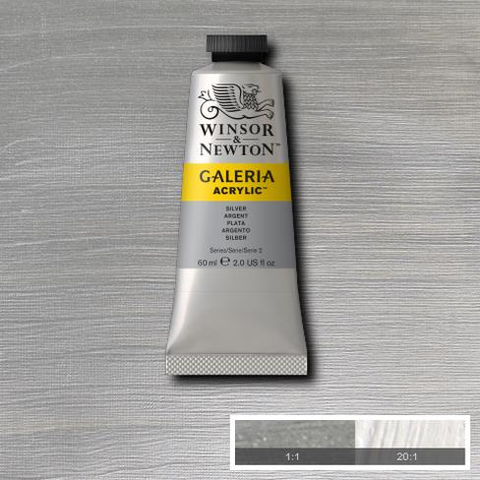 Winsor and Newton Galeria Acrylic Silver