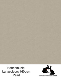 Hahnemühle Lana Colours Pearl warm grey/brown pastel hammered paper 160 gsm. Artist Premium Pastel and Papercutting Papers 160 gsm often described as hammered paper