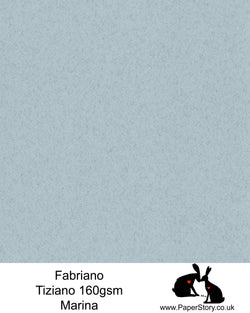 High quality paper from Italy, Marina, felted cool grey with a hint of ocean blue. Fabriano Tiziano is 160 gsm, Tiziano has a high cotton content, a textured naturally sized surface. This paper is acid free to guarantee long permanence in time