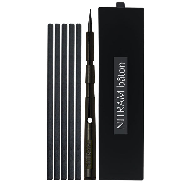 Nitram Bâton Deluxe Charcoal Holder with 5 soft charcoal sticks