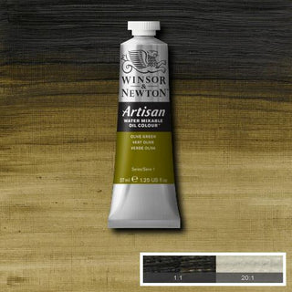 Winsor & Newton Artisan Oil : Water Mixable Oil paint 37 ml : Olive Green