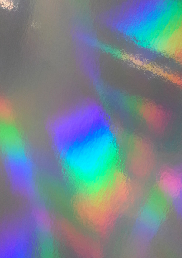 A4 Holographic 300 gsm card Rainbow