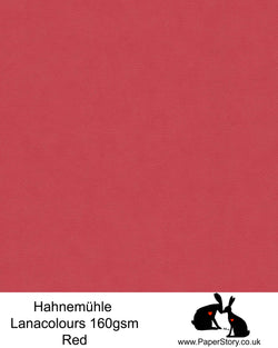 Hahnemühle Lana Colours red pastel hammered paper 160 gsm. Artist Premium Pastel and Papercutting Papers 160 gsm often described as hammered paper. This high quality artist paper