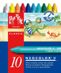 10 NEOCOLOR II Water-soluble assortment of 10 Special edition Summer Colours