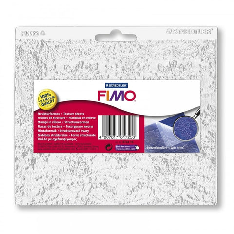 Fimo Texture Sheets : Lace