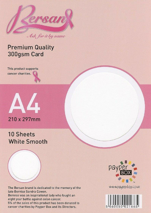 A4 Payperbox Smooth card 300 gsm : White