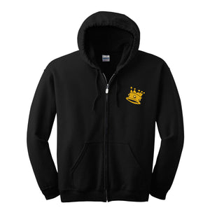 Kingpin Crown Unisex Full-Zip Hoodie