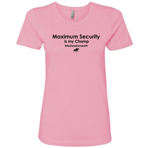 Maximum Security Women's Short Sleeve