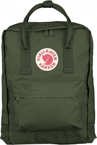 16L/ Classic BackPack Brand School Bag Travel Forest Green