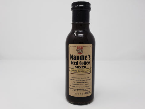 Mandie's Iced Coffee Mixer (White Chocolate)