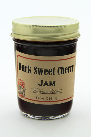 No Sugar Added Dark Sweet Cherry Jam