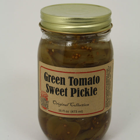 Green Tomato Sweet Pickle
