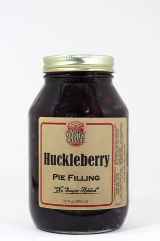 No Sugar Added Huckleberry Pie Filling