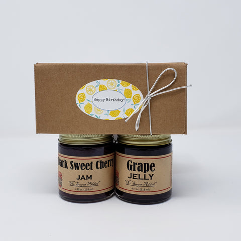 2 Jar Gift Box Sugar Free