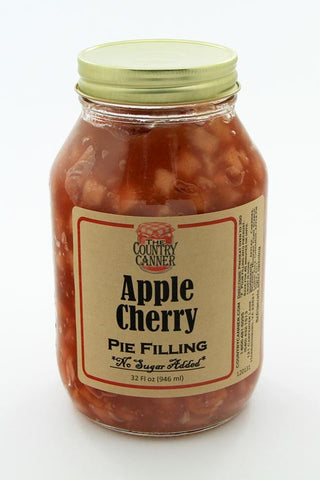 No Sugar Added Apple Cherry Pie Filling