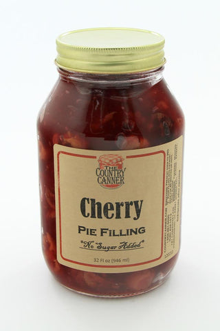 No Sugar Added Cherry Pie Filling