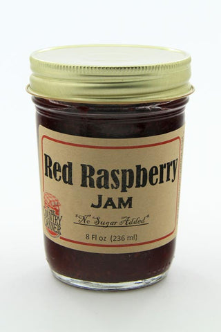 No Sugar Added Red Raspberry Jam