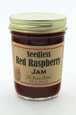 No Sugar Added Seedless Red Raspberry Jam