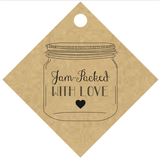 """Jam-Packed With Love"" Jar Tag (#1)"