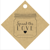 """Spread the Love"" Jar Tag (#4)"