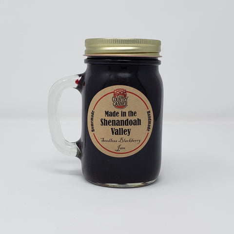 """Made in the Shenandoah Valley"" Seedless Blackberry Jam Mug"