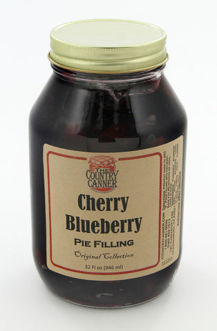 Cherry Blueberry Pie Filling