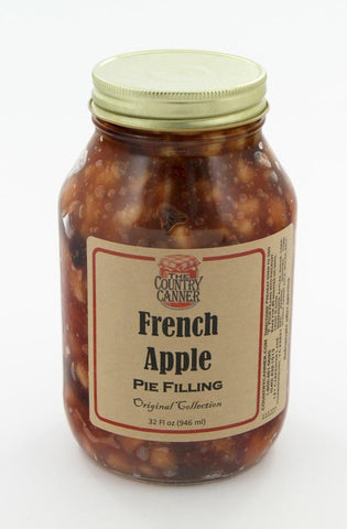 French Apple Pie Filling