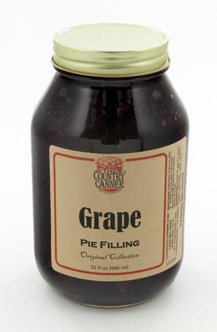 Grape Pie Filling